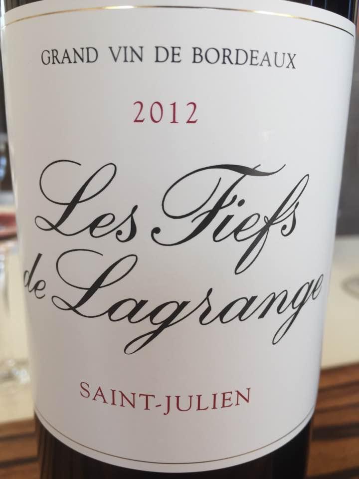 Les Fiefs de Lagrange 2012 – Saint-Julien