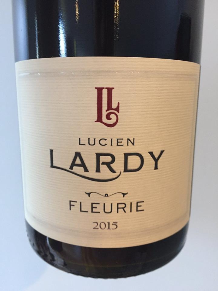 Lucien Lardy 2015 – Fleurie