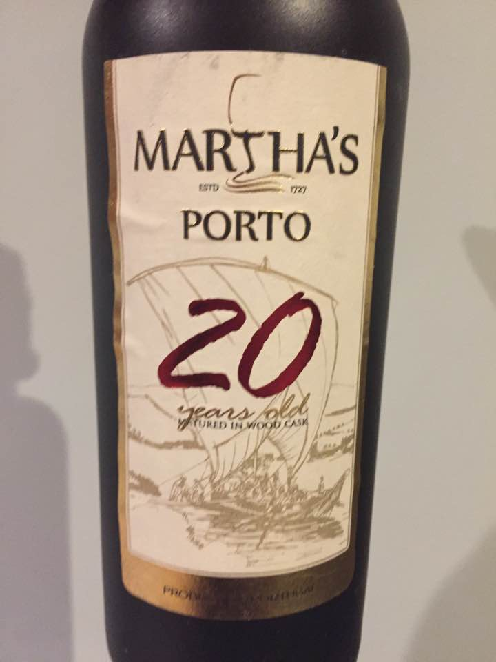 Martha's – 20 Years Old – Porto