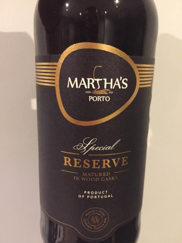 Martha's – Special Reserve – Porto