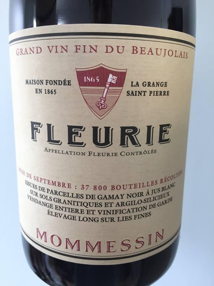 Mommessin 2015 – Fleurie