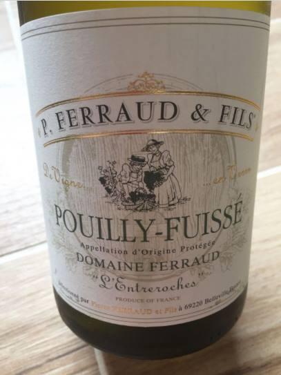 P. Ferraud & Fils – L'Entreroches 2015 – Pouilly-Fuissé
