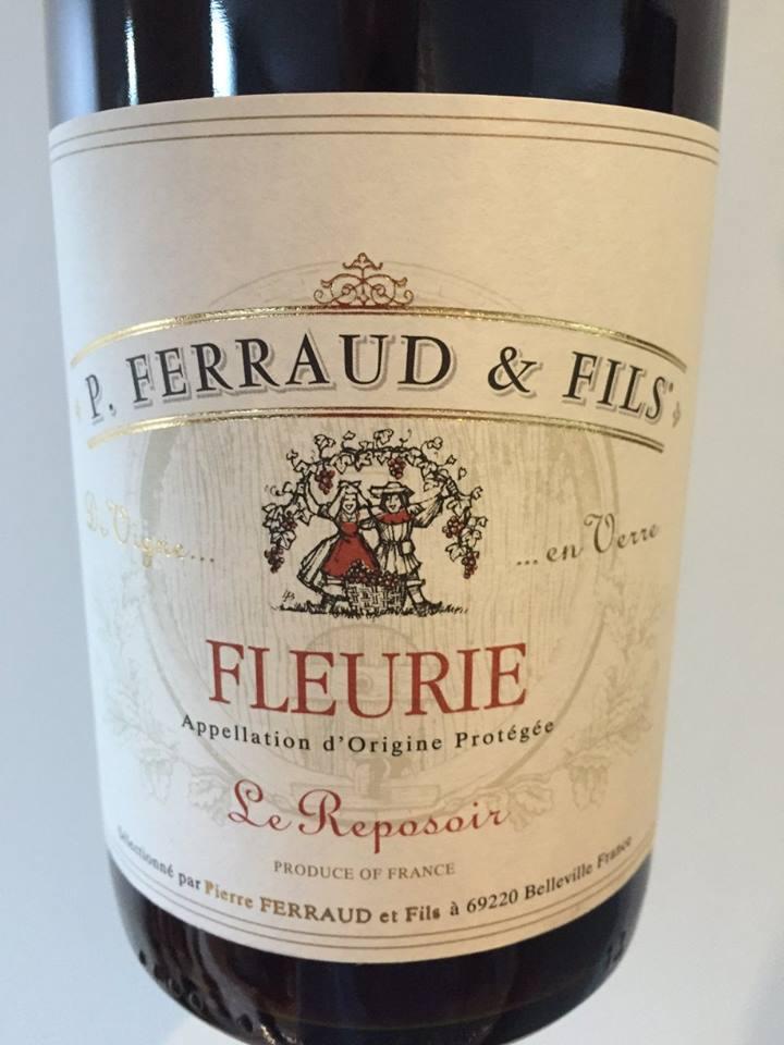 P. Ferraud & Fils – Le Reposoir 2015 – Fleurie