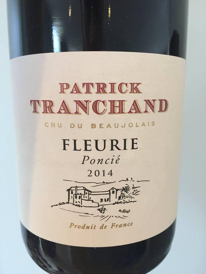 Patrick Tranchand – Poncié 2014 – Fleurie