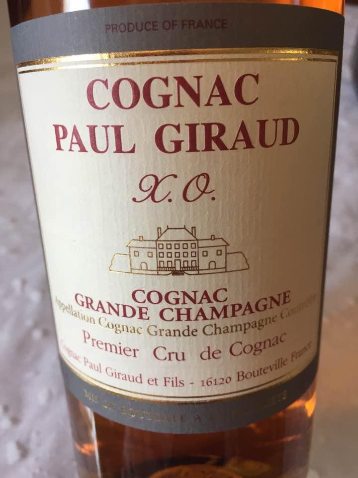 Paul Giraud – XO – Premier Cru de Cognac – Grande Champagne