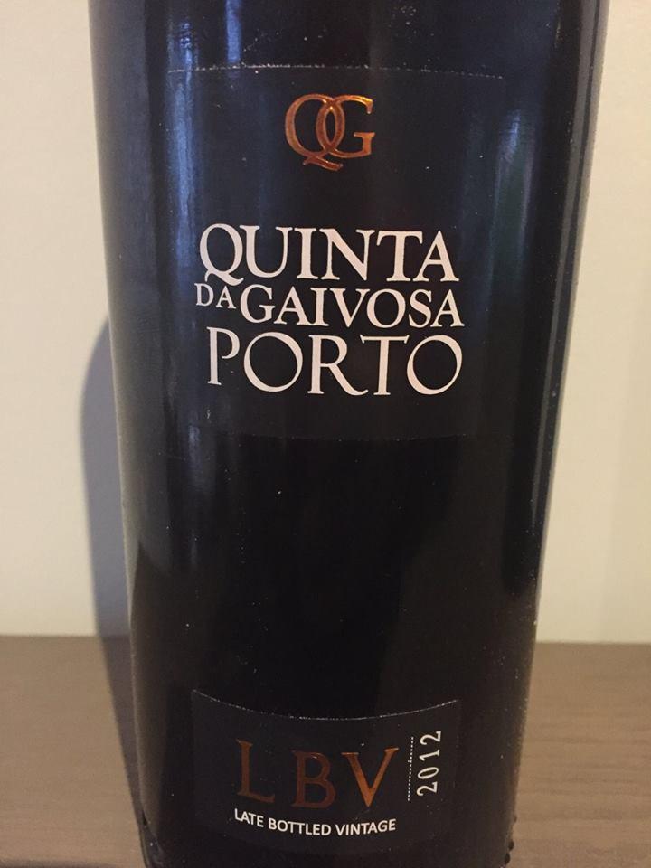 Quinta da Gaivosa – LBV 2012 – Porto