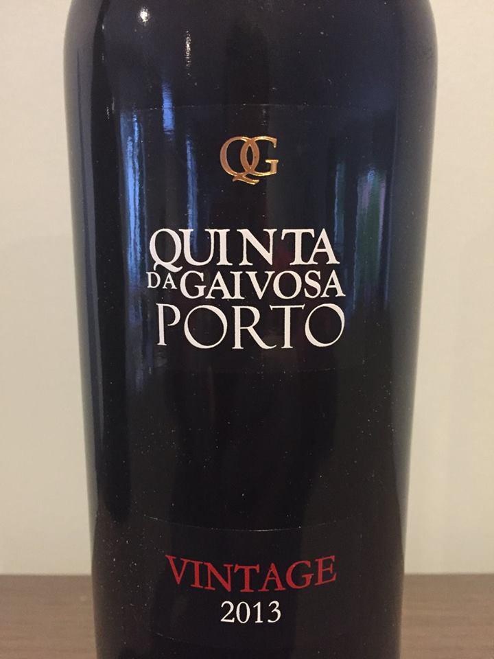 Quinta da Gaivosa – Vintage 2013 – Porto