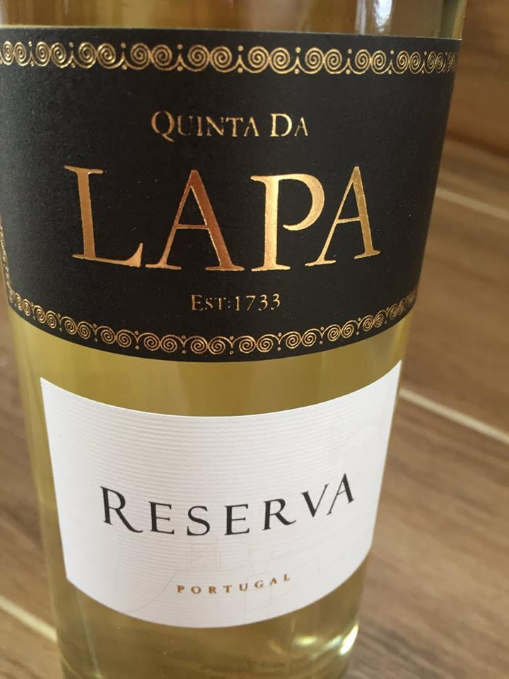 Quinta da Lapa – Reserva – Vinho Branco 2015 – Tejo