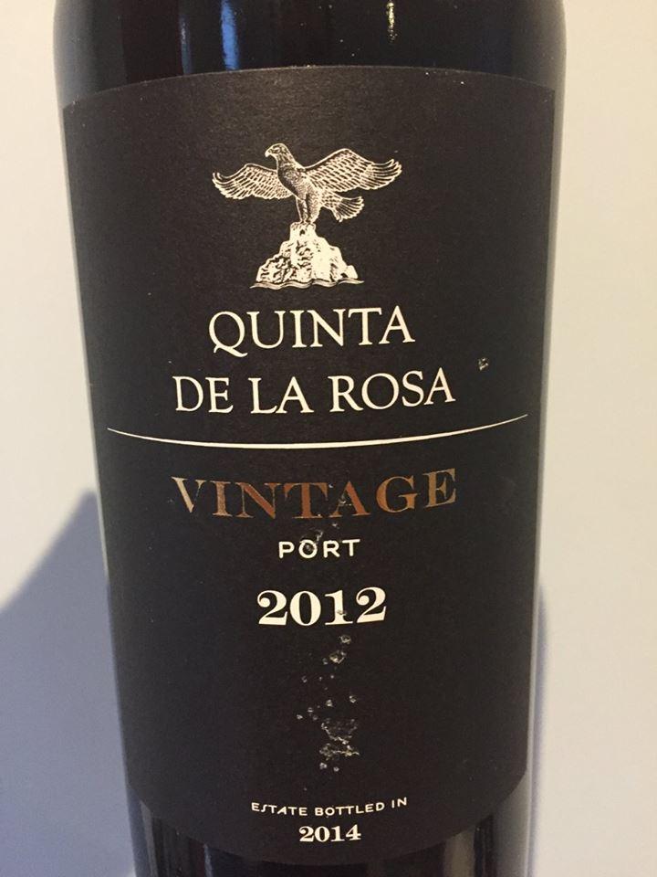 Quinta de la Rosa 2012 – Vintage Porto