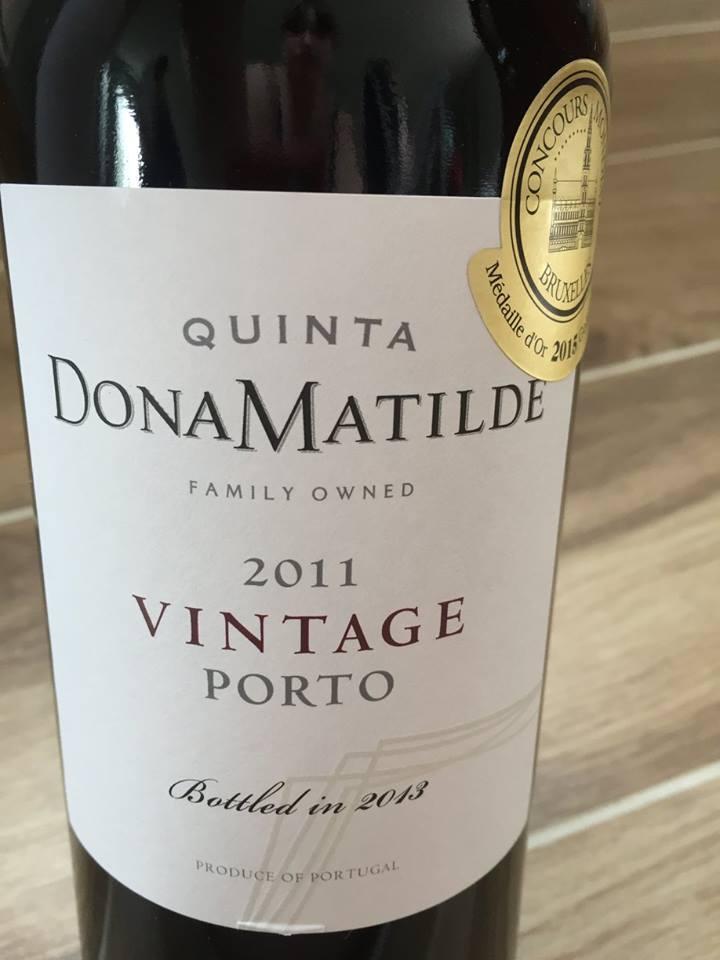 Quinta Dona Matilde – 2011 Vintage Porto