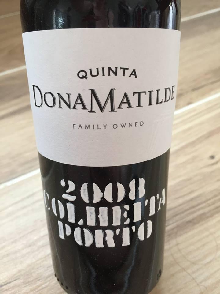 Quinta Dona Matilde – Colheita 2008 – Porto