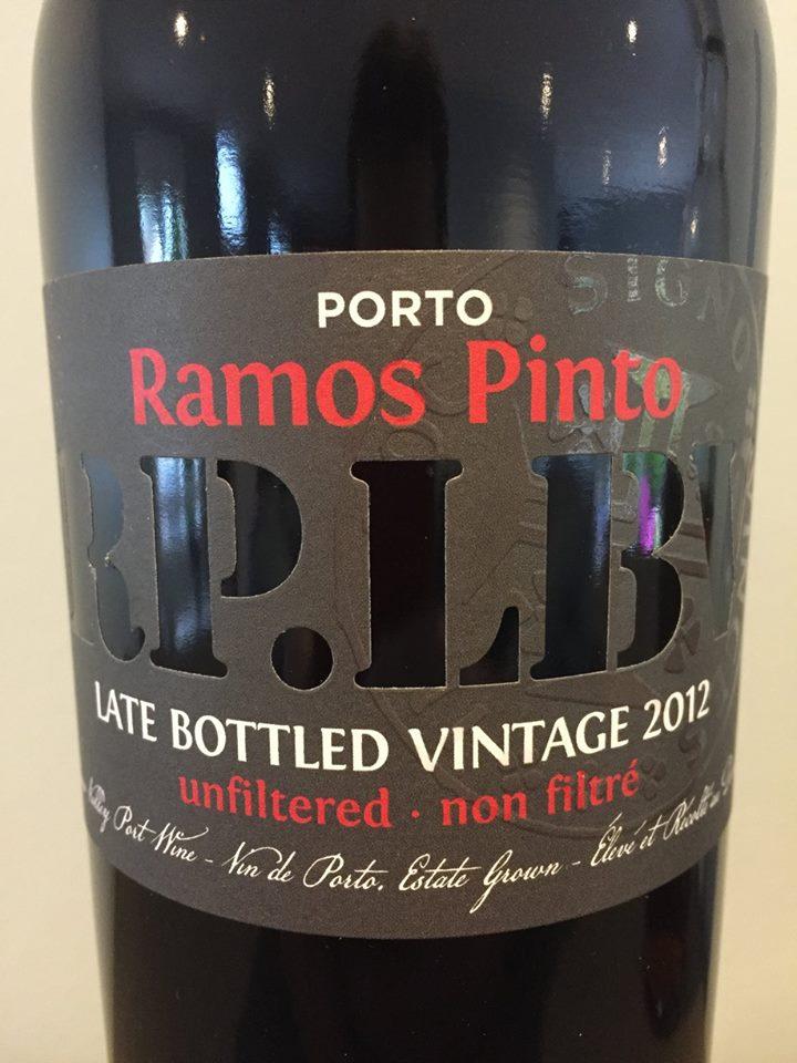 Ramos Pinto – LBV 2012 – Unfiltered – Porto