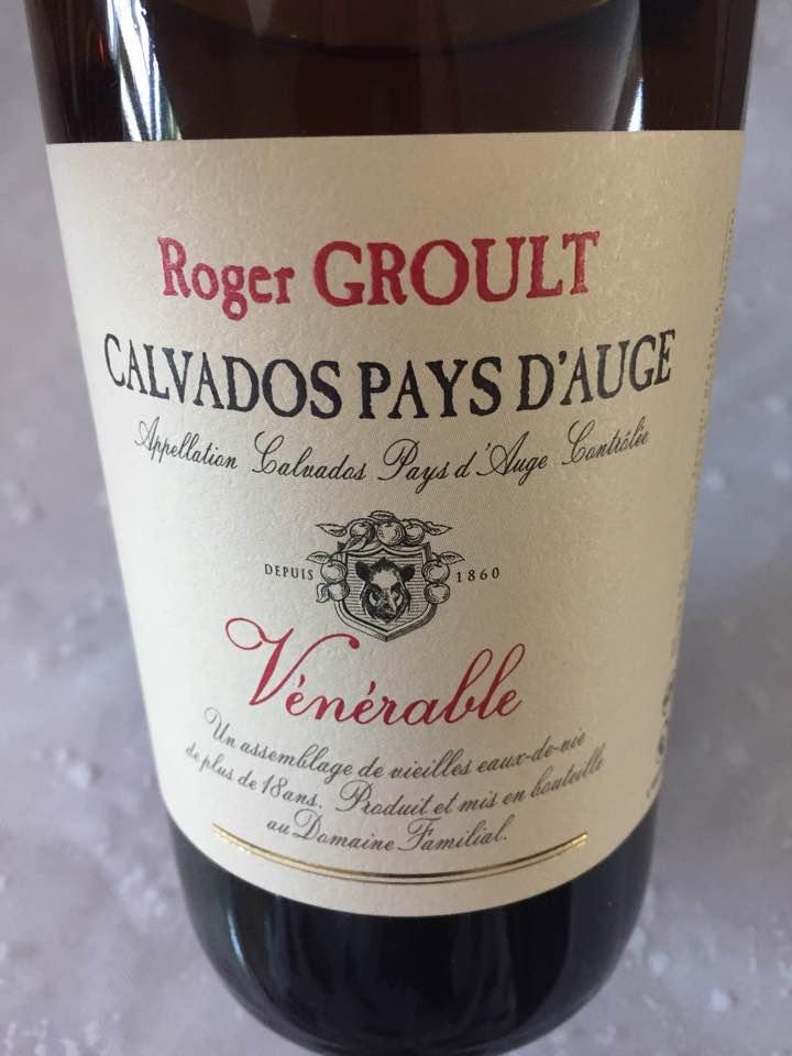 Roger Groult – Vénérable – Calvados Pays d'Auge