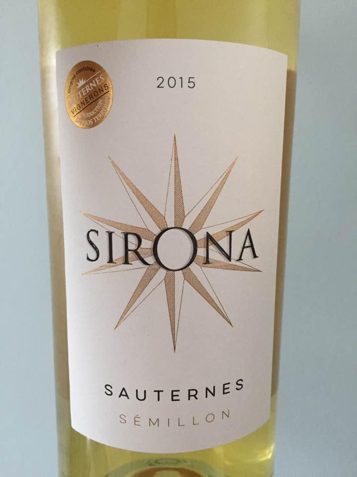 Sirona 2015 – Sauternes