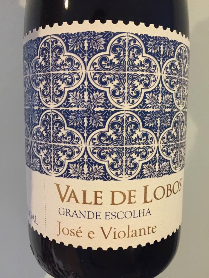 Vale de Lobos – Grande Escolha 2013 – José e Violante – Tejo