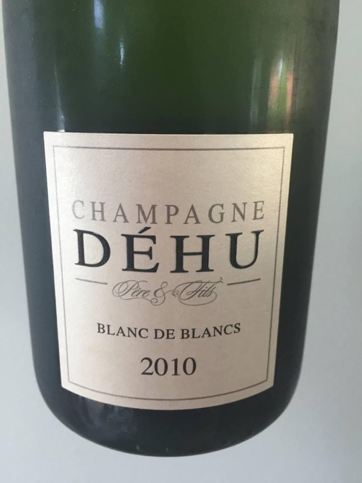 Champagne Déhu – Blanc de Blancs 2010 – Brut