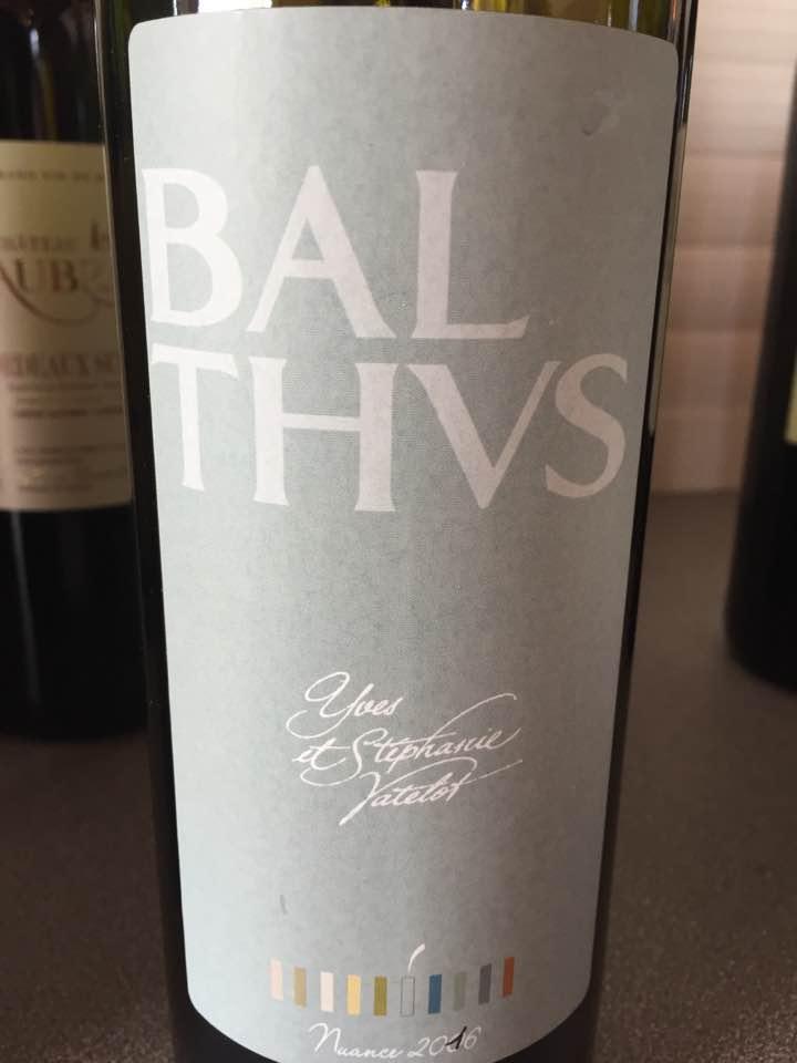Balthus 2016– Bordeaux Supérieur