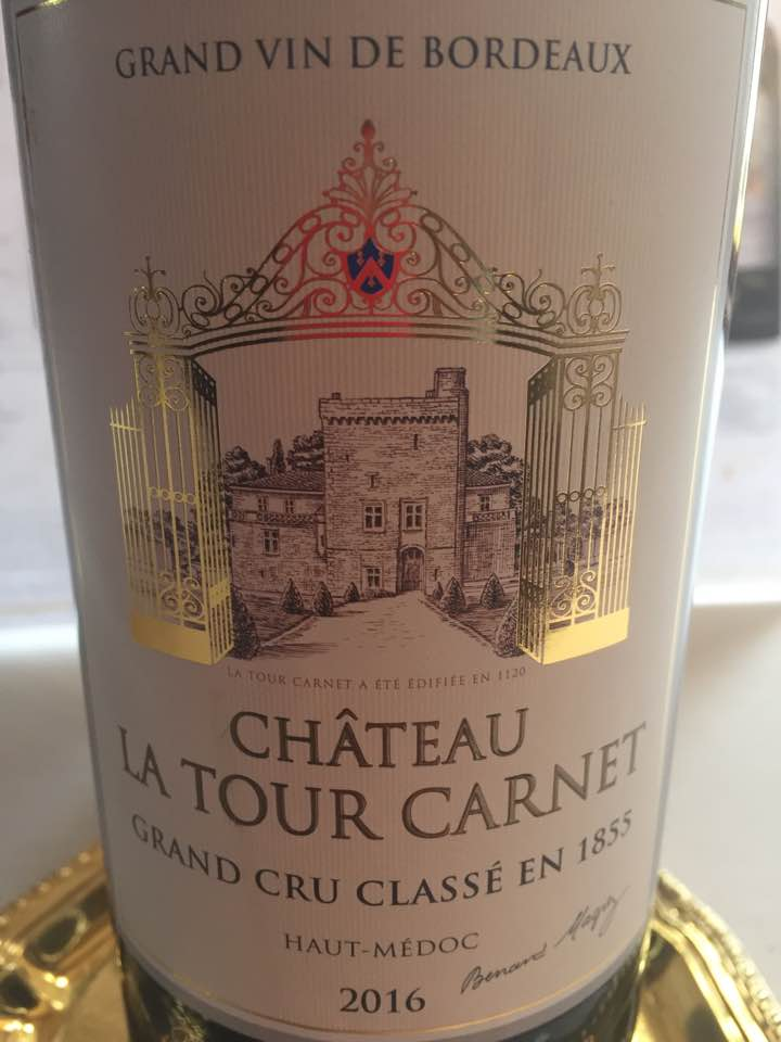 Château La Tour Carnet 2016 – Haut-Médoc, Grand Cru Classé