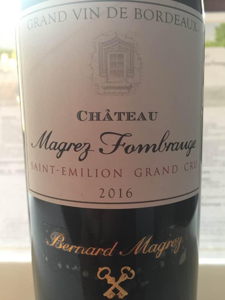Château Magrez Fombrauge2016 – Saint-Emilion Grand Cru