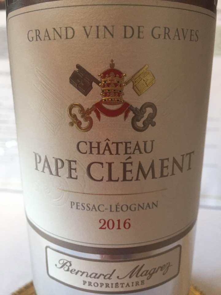 Château Pape Clément 2016 – Pessac-Léognan