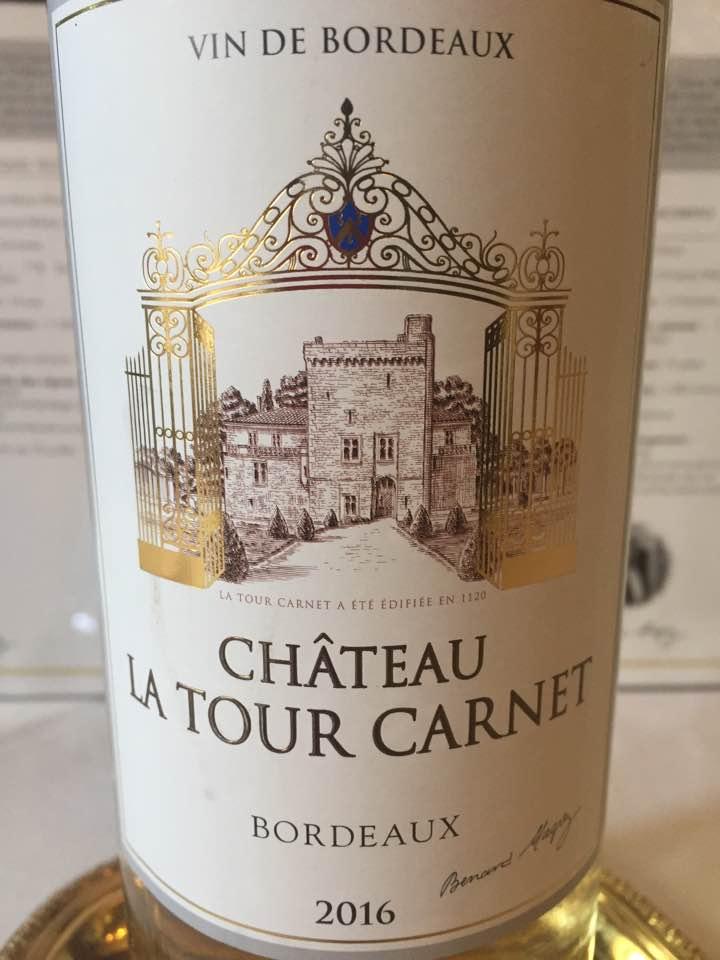 Château La Tour Carnet 2016 – Bordeaux Blanc