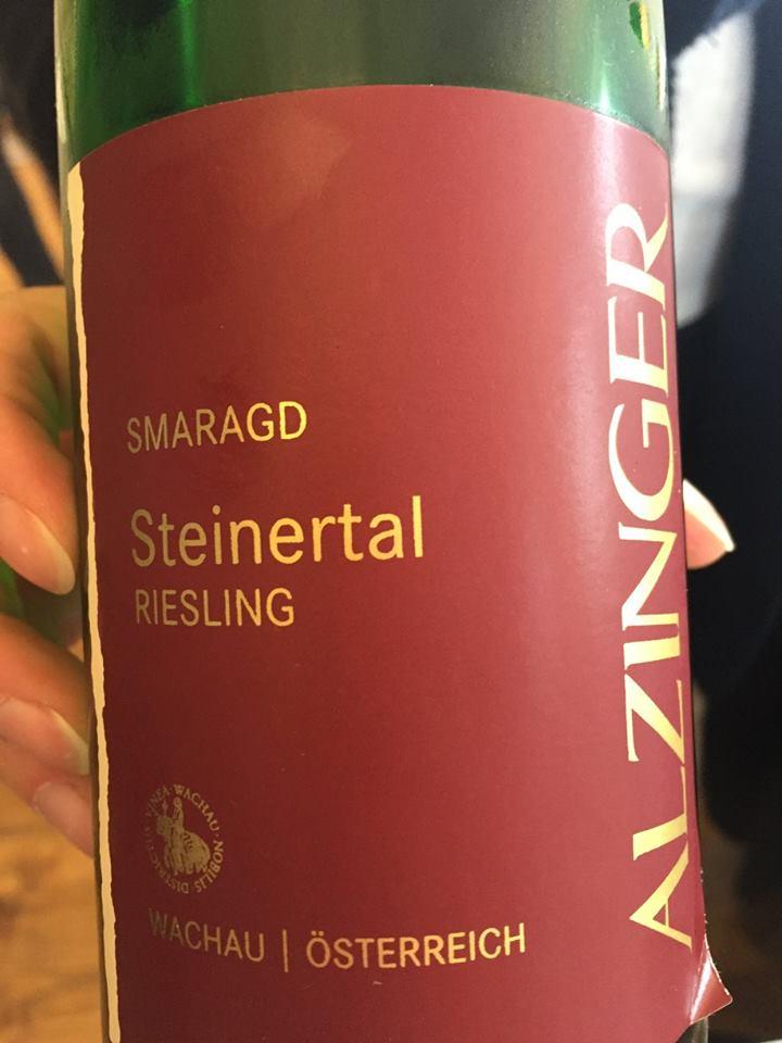 Alzinger – Smaragd Steinertal Riesling 2009 – Wachau