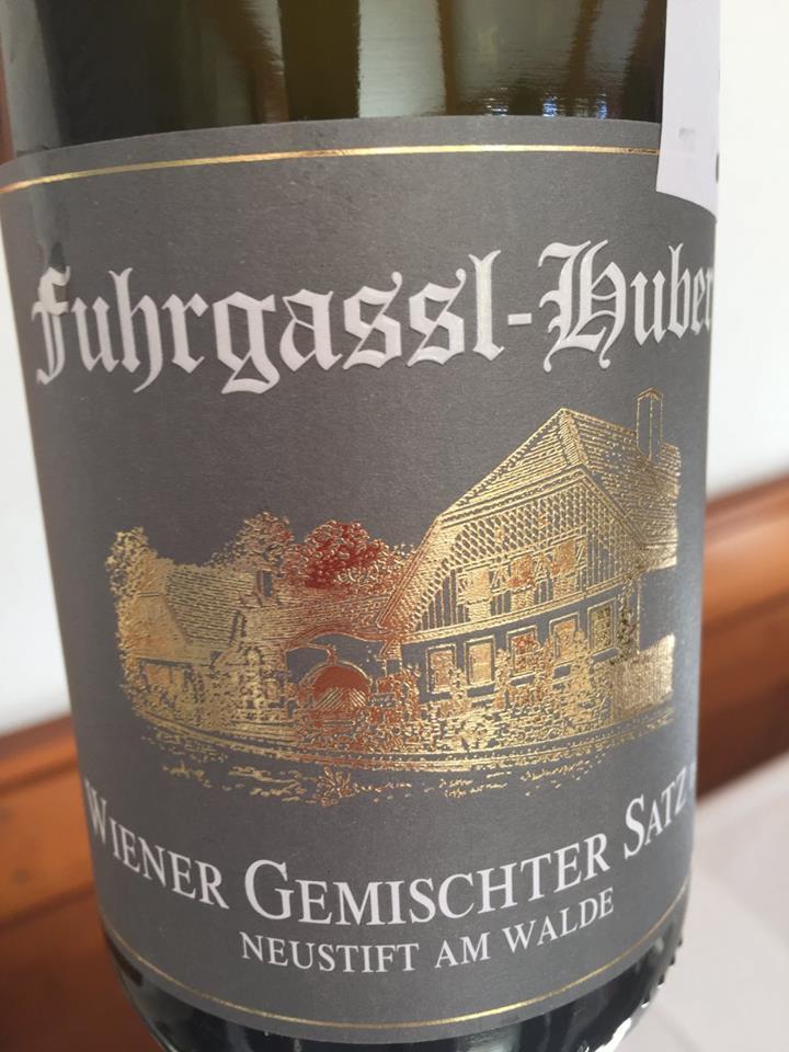Fuhrgassl-Huber – Wiener Gemischter Satz 2016– Neustift Am Walde – Vienna