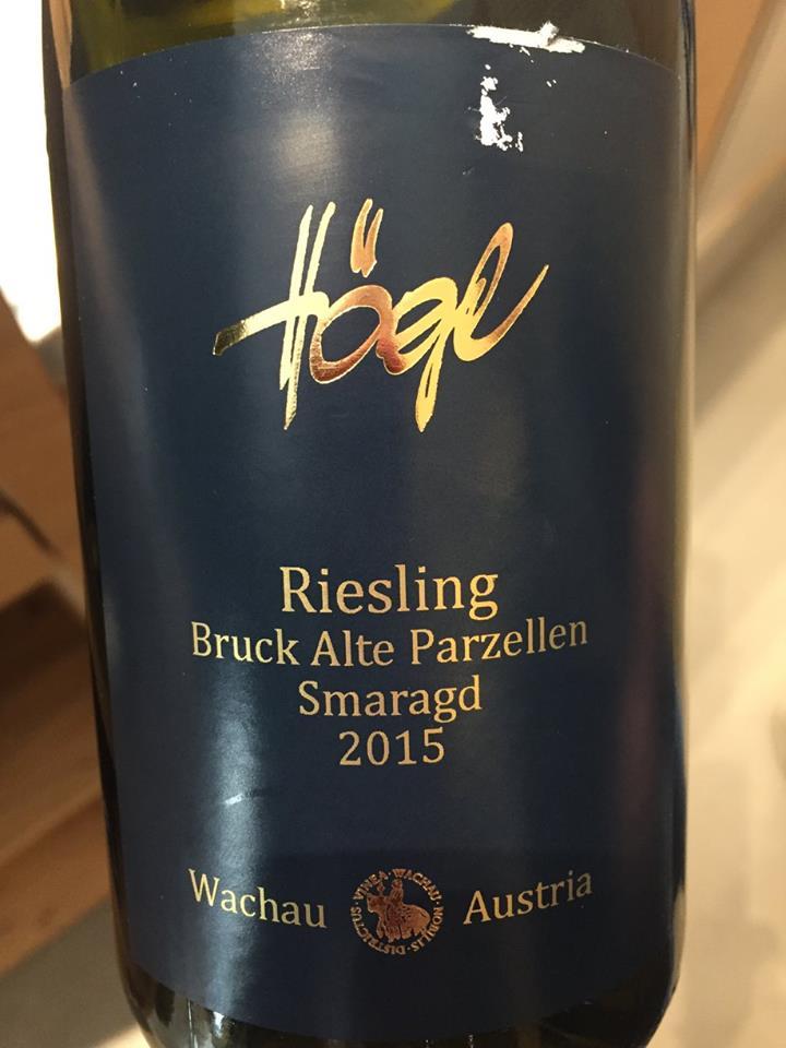 Högl – Bruck Alte Parzellen Smaragd 2012 – Wachau