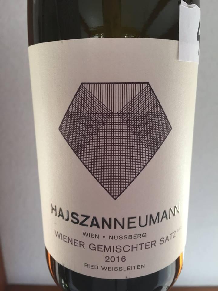 Hajszan Neumann – 2016 Wiener Gemischter Satz