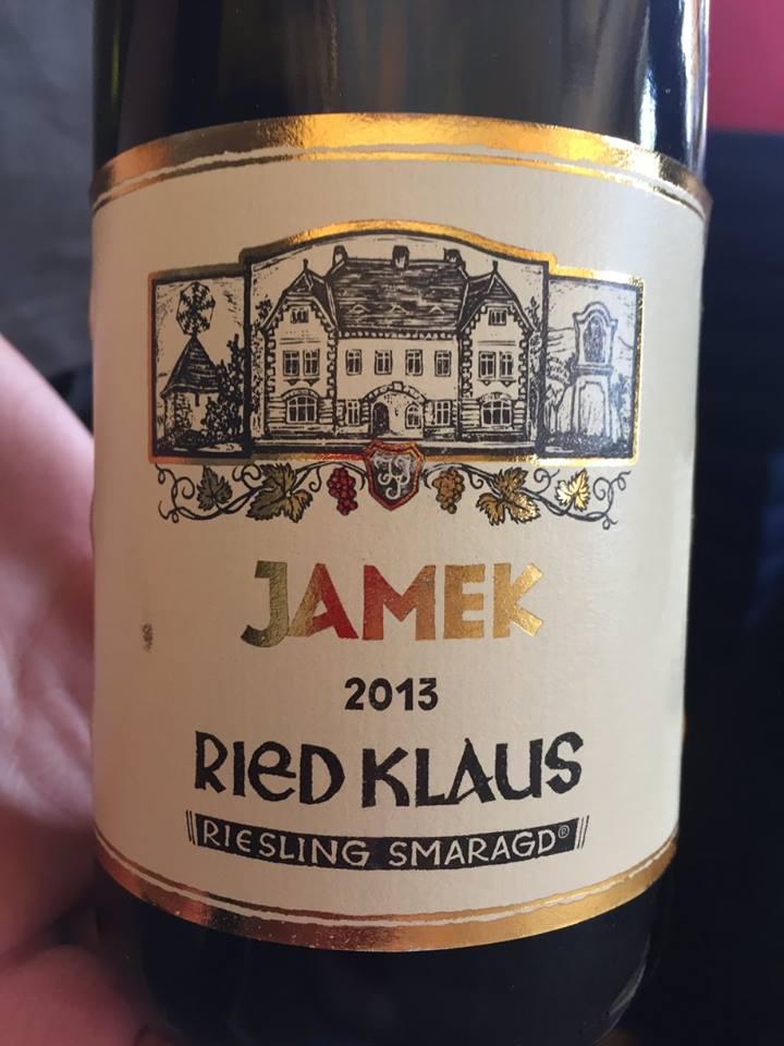 Jamek – Ried Klaus 2013 Riesling Smaragd – Wachau