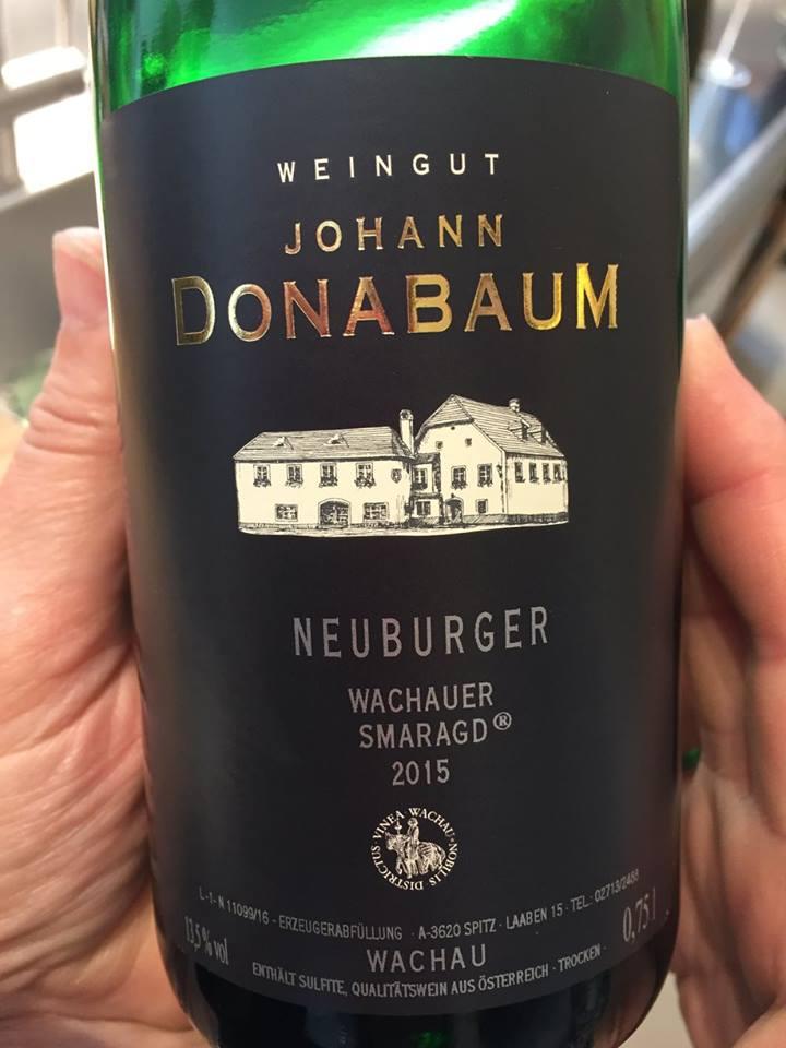 Johann Donabaum – Neuburger Wachauer Smaragd 2015– Wachau