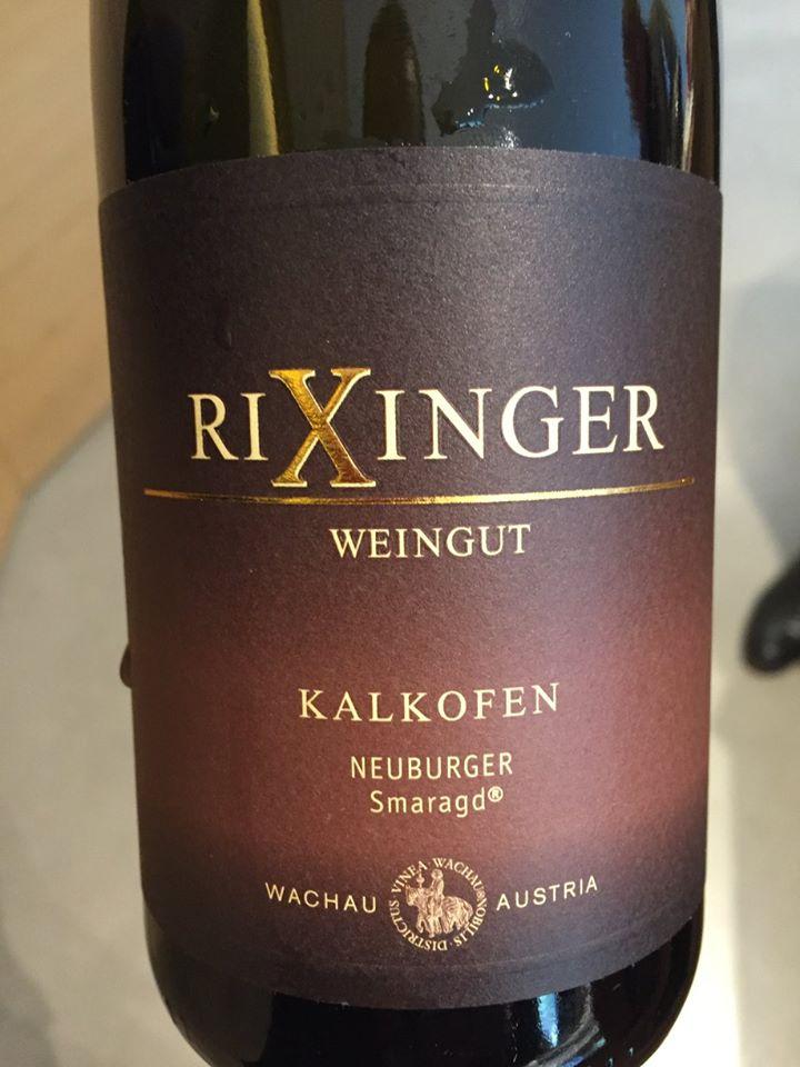 Rixinger Weingut – 2016 KalkofenNeuburger Smaragd – Wachau