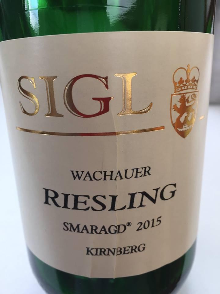 Weingut Sigl – Riesling Smaragd Kirnberg 2015 – Wachau