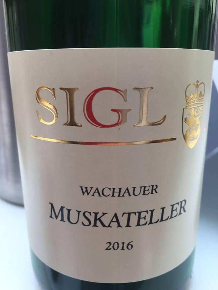 Sigl – Muskateller 2016 – Wachau