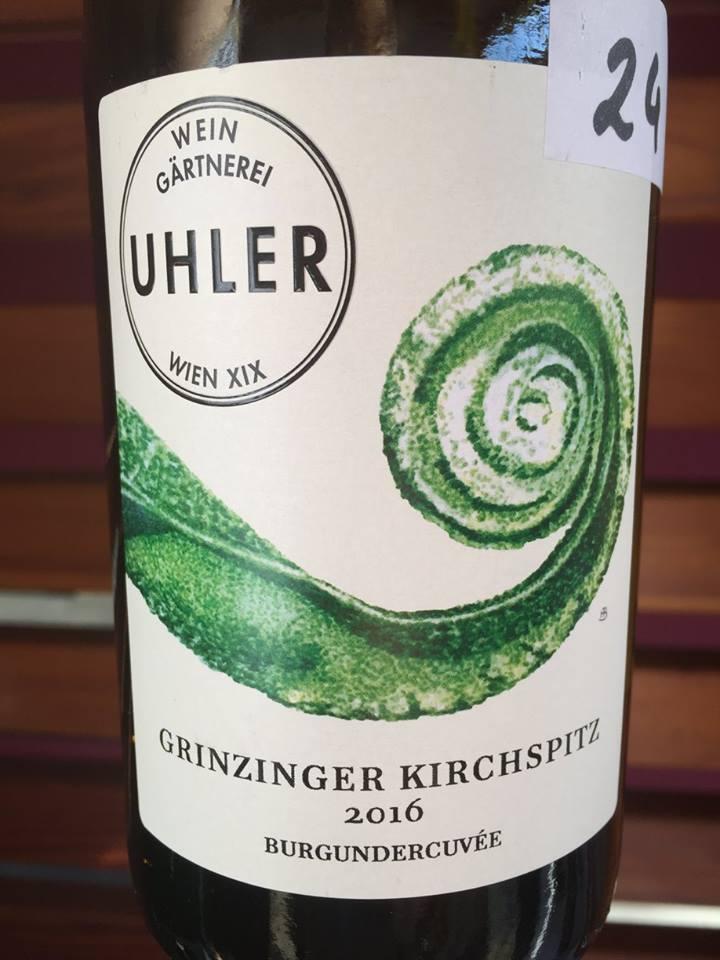 Uhler – Cuvée Grinzinger Kirschpits Ried Ring 2016– Burgundercuvée