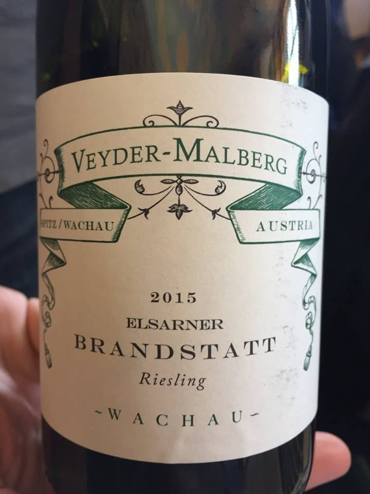 Veyder-Malberg – Elsarner Brandstatt 2015– Riesling – Wachau