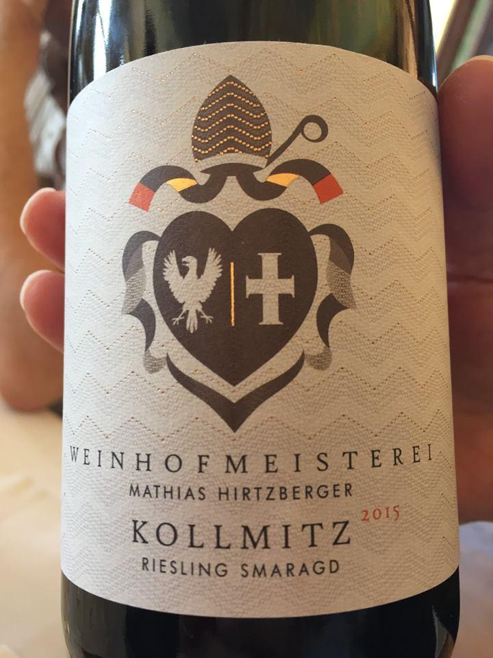 Weinhofmeisterei – Kollmitz 2015 Riesling Smaragd – Wachau