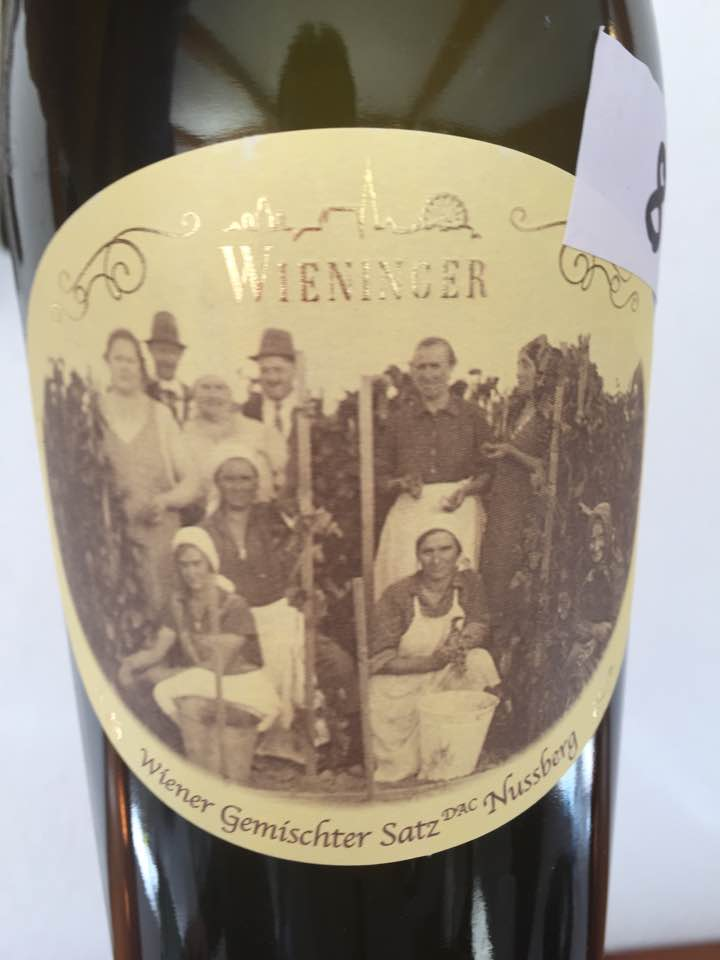 Wieninger – Wiener Gemischter Satz DAC Nußberg 2015