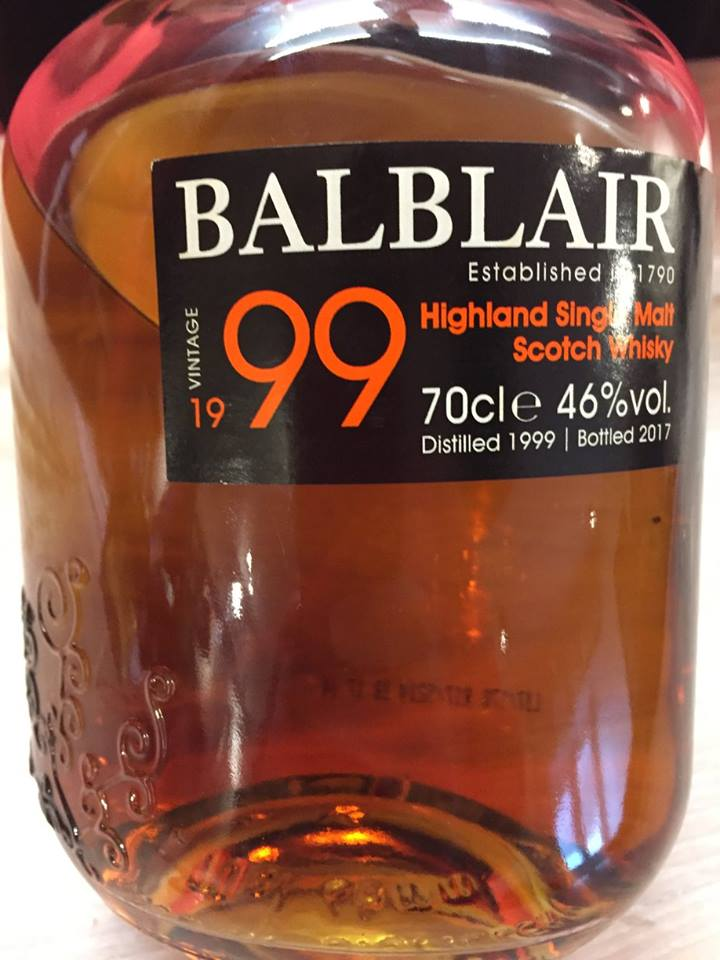 Balblair – Vintage 1999 – Highland, Single Malt – Scotch Whisky