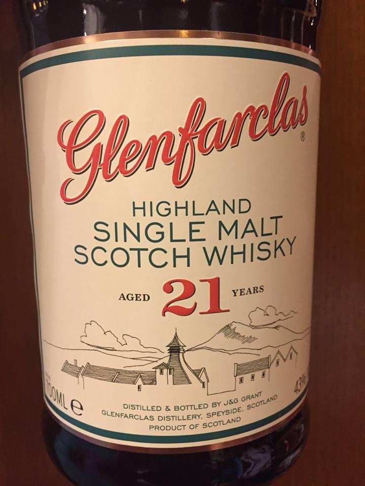 Glenfarclas – Aged 21 Years– Highland, Single Malt – Scotch Whisky