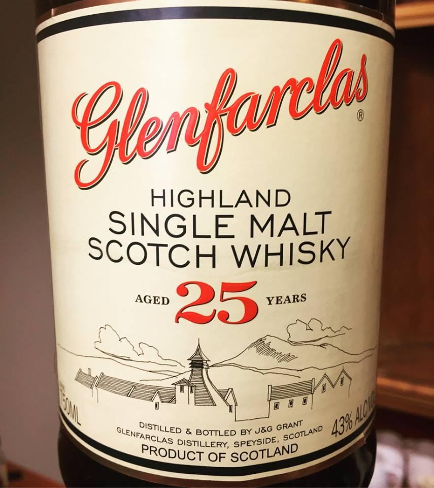Glenfarclas – Aged 25 Years– Highland, Single Malt – Scotch Whisky