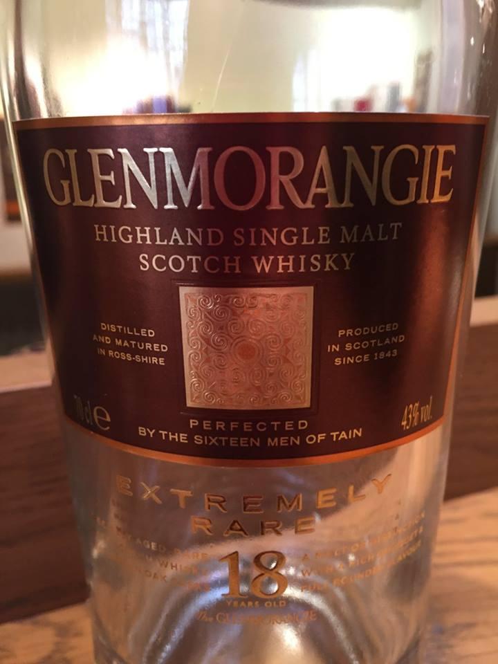 Glenmorangie – 18 Years Old – Extremely Rare– Highland, Single Malt – Scotch Whisky