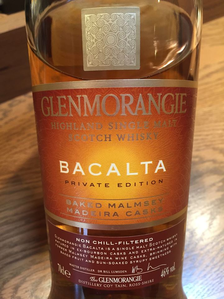 Glenmorangie – Bacalta Private Edition – Baked Malmsey – Madeira Casks – Highland, Single Malt – Scotch Whisky