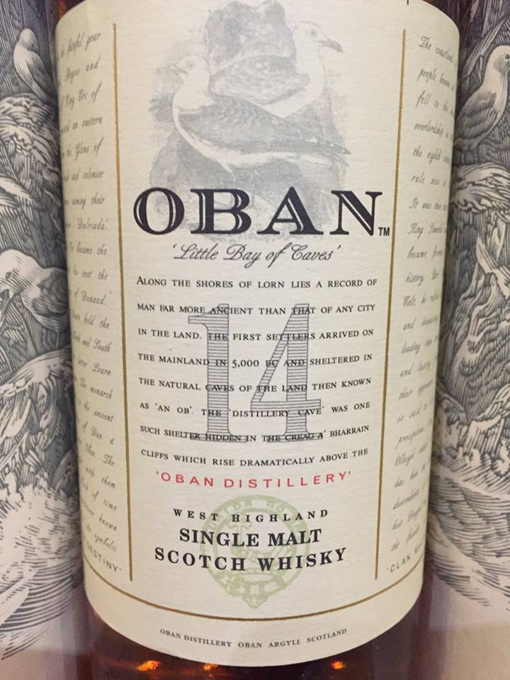Oban – 14 Years Old – West Highland, Single Malt – Scotch Whisky