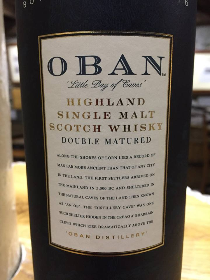 Oban – Distiller Edition – Double Matured – Special Release, OD 165.Fb – Limited Edition – West Highland, Single Malt – Scotch Whisky
