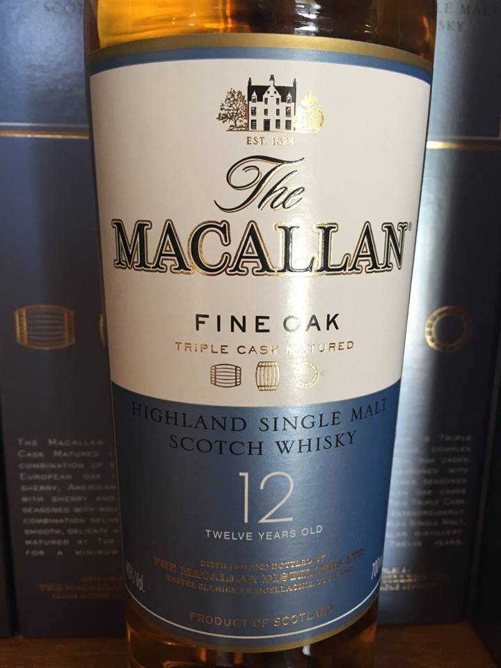 The Macallan – Fine Oak – 12 Years Old – Triple Cask Matured – Highland, Single Malt – Scotch Whisky