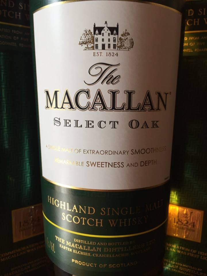 The Macallan – Select Oak– Highland, Single Malt – Scotch Whisky