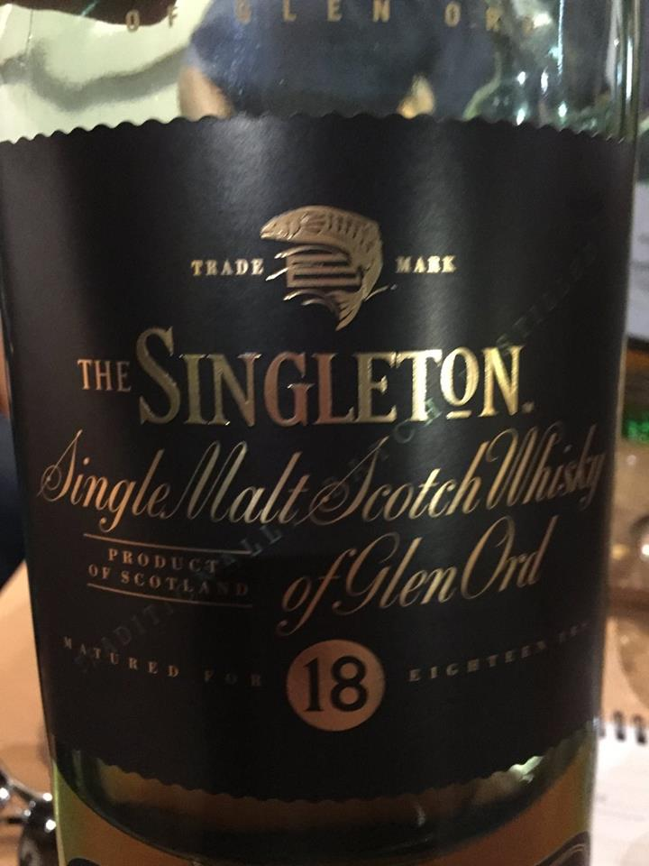 The Singleton – Glen Ord – 18 Years Old – Single Malt – Scotch Whisky