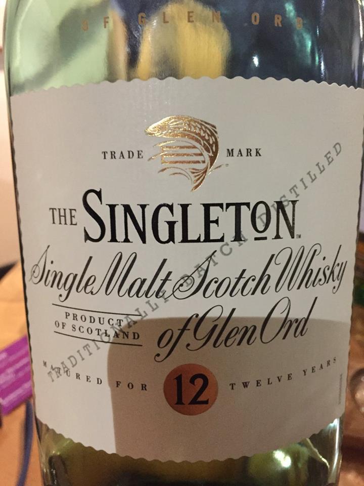 The Singleton – Glen Ord – 12 Years Old– Single Malt – Scotch Whisky