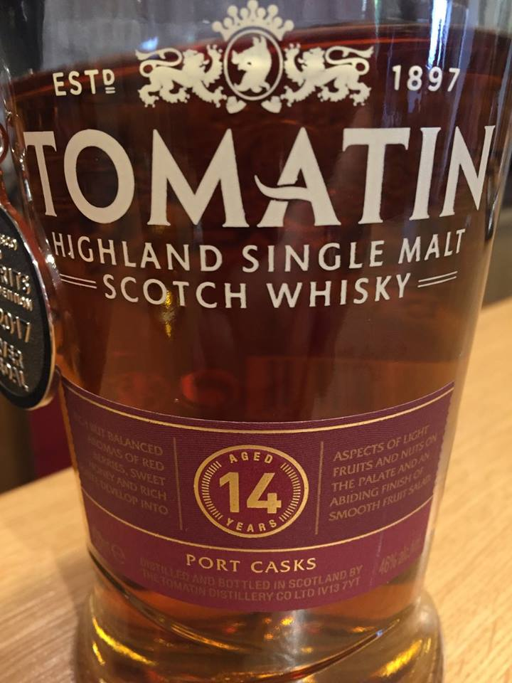 Tomatin – Aged 14 Years – Port Casks – Highland, Single Malt – Scotch Whisky